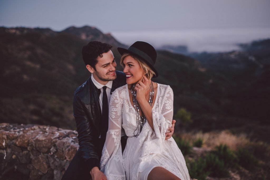 Romantic Boho Wedding Stonewall Ranch Malibu