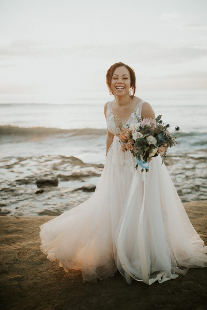 Dream Come True Wedding At Sunset Cliffs