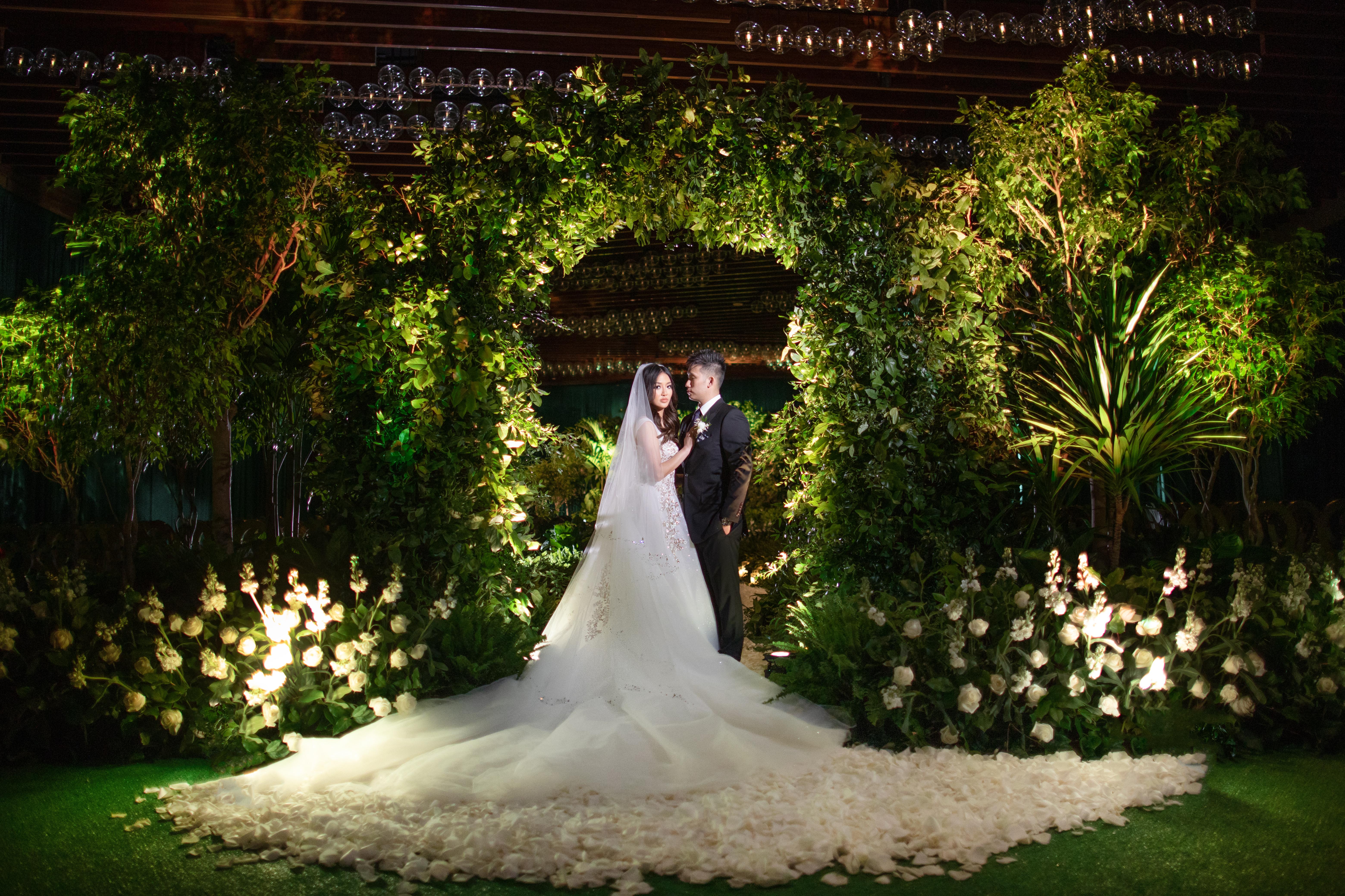 Theresa Jeff S Wedding At Aria Resort In Las Vegas